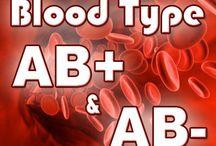Blood Type AB +