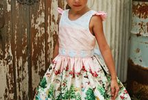 Handmade Party Dresses / Sweet dresses for special occasions.  Fancy frocks for parties.  Dresses little girls will remember wearing when they're big girls.  Handmade by boutique businesses.