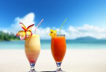 Destination Wedding Drinks / Why not consider a signature wedding cocktail to quench your thirst and toast your destination wedding?  Maybe you could include the local tipple from your destination.