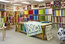 quilt shops - canada / by Gloria Bunn