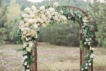 Wedding Arches / Gorgeous Floral Wedding Arches -- Click on photo to view them all.