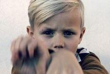 Frisyrer pojke