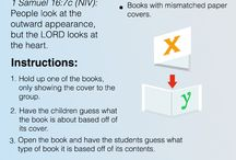 Bible Object Lessons / Object lessons to help with teaching the Bible to children.