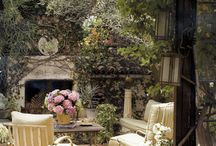 Outdoor Living Spaces / by Michelle Lackey Miller