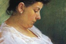 Portraits of the Artists' Mothers / In honor of Mother's Day... / by Suzette Sullivan