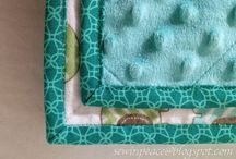 Sew baby blankets