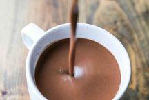 pasta de chocolate quente