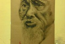 My Drawing portfolio / Drawing and artwork by ahmad nurcholis. Using charcoal and paper