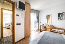 Camere Hotel Bellavista Lignano / Le camere dell' hotel Bellavista di Lignano Sabbiadoro