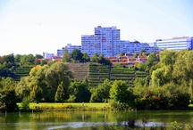 Raum mittlere Neckar / some buildings which inspired me when I was young...