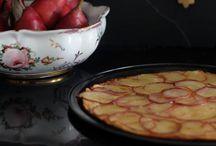 Tarta Fina de Pera Roja de Anjou,