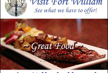 Lunch Time Visit Fort William