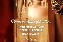 Pinnacle® Midnight's Kiss / Ring in the New Year with Pinnacle® Vodka. Premium Vodka without the premium.