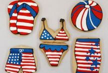 Fourth of July Cookies / by Erin Brankowitz