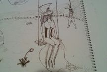 My drawings / My personal drawings using ink pens