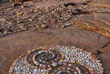 мозайка из камней