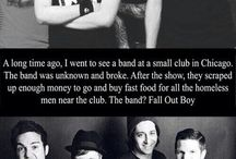 FOB Story / Random infos about Fall Out Boy