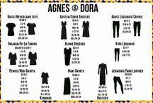agnes and dora