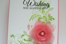 Floral & Butterfly Cards / All occasions of cards that are floral or have butterflies on them / by Kim Millar