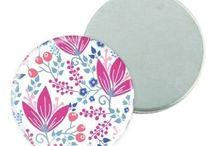 Magnet frigo personnalisé / Des badges magnet frigo pour décorer votre intérieur, faire du scrapbook, promouvoir une idée ou une entreprise