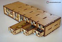 Laser cut / Wood, plywood laser cutting