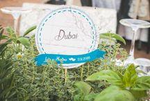 Wedding tables / Idee per allestimenti matrimoni realizzate da  Love, paper and co.   #Wedding Design Bologna #weddingtable #marriagepreparation
