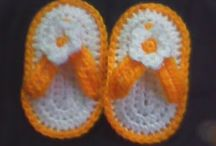 Baby slippers patterns