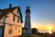 Maine Lighthouses / Iconic. Maine has fabulous lighthouses - many of which can be toured in September on Maine Lighthouse Weekend.