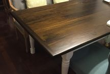 New house / Farm house table by: Howard Lee Brady Check out Cherry Perfect on facebook / by Christina Brady