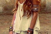 Moda bohemia / moda bohemia, estilo bohemio chic, ropa y accesorios boho.