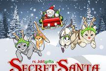 Secret Santa 2014 / redditgifts.com's annual online Secret Santa gift exchange. Guinness World Record holders for 2011, 2012, and 2013 for the world's largest online secret santa gift exchange.