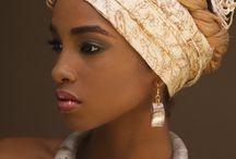 Africaans head wrap / Africaans head wrap