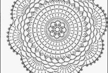 crochet mandala/doily