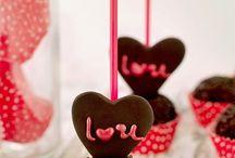 postres san Valentín