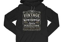 Vintage Perfection Birthday Shirts