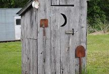 OUTHOUSE PRIVY