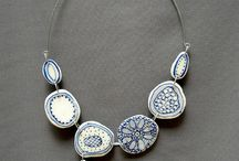 Porcelain jewellery
