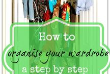 To better organize / How to organize your closet