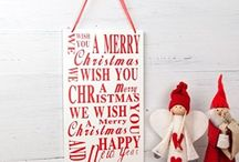 Christmas Chic / All things Christmassy to adorn your home