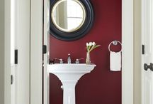 Red Invasion / Explore the use of Red and its various hues and shades in the different parts of your home.