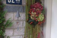 Zelfgemaakt bloemschikken