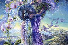 obrázky - Josephine Wall / ♥ kouzelný svět fantazie ♥