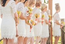 Anna and Dk wedding / Bridesmaid dresses, table ideas