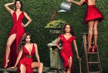 DEVIOUS MAIDS / Devious Maids is an American television comedy-drama series.  The series centers on four Latina maids working in the homes of Beverly Hills' wealthiest and most powerful families. Main characters * Marisol Suarez - Ana Ortiz * Carmen Luna -  Roselyn Sánchez * Rosie Westmore - Dania Ramirez * Zoila Diaz - Judy Reyes * Evelyn Powell - Rebecca Wisocky * Genevieve Delatour - Susan Lucci * Adrian Powell - Tom Irwin * Spence Westmore - Grant Show * Valentina Diaz - Edy Ganem