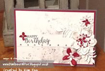 Inspiration / Stampin Up