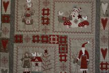 Quilts with stitches