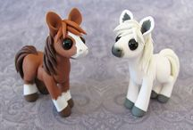 clay things and toys