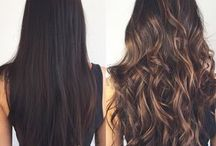 Mechas cabelo