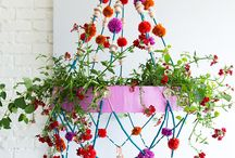 Hangers planten / lichtjes