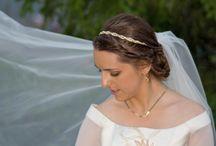 Recogidos y maquillajes nupciales / Ejemplos de trabajos realizados para novias.